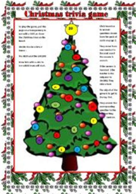 christmas trivia game question cards on page 2 to go