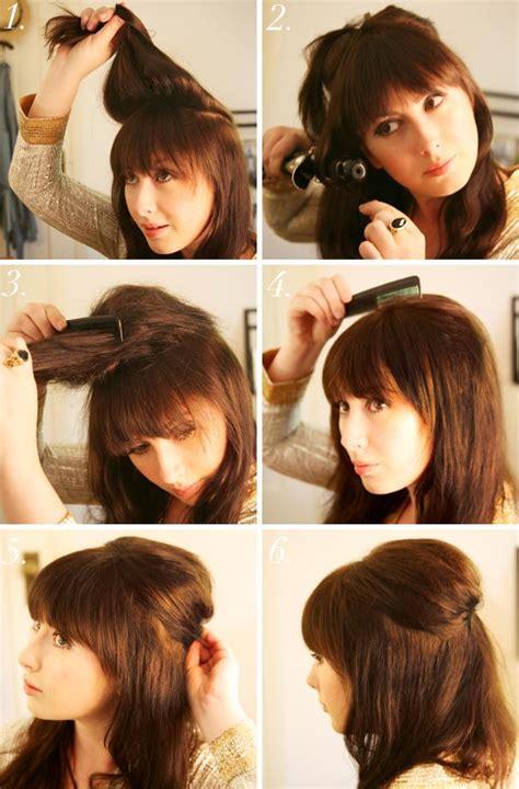 cute hairstyles no hairspray scandalgreat tutoriales de peinados