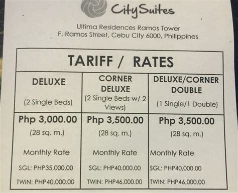 weekly room rates found a cebu hotel monthly condo with 10mbps wifi