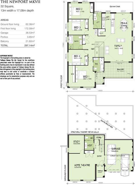 upslope house designs newport mk 7 upslope design 13m wide home design