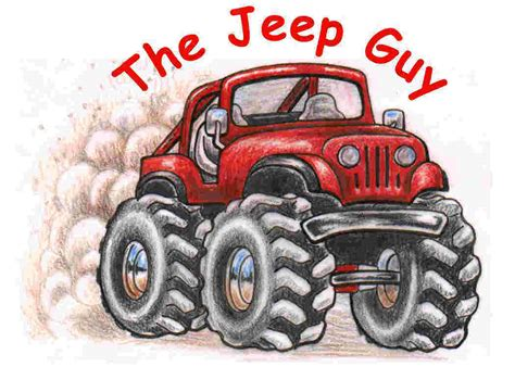 jeep art the jeep guy home page