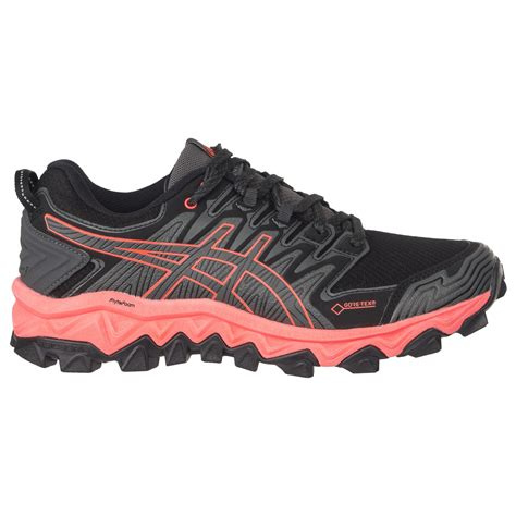 asics gel fujitrabuco  gtx trail running shoes womens  uk delivery alpinetrekcouk