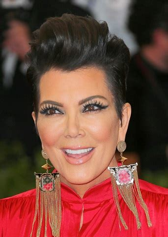 Hairstyles: Kris Jenner ? Sleek Faux Updo   Sophisticated