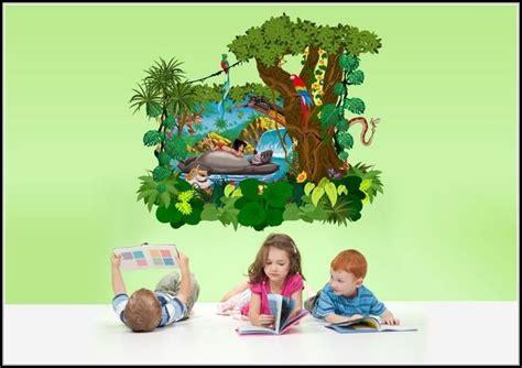 Wandtattoo Kinderzimmer Dschungelbuch by Wandtattoos Kinderzimmer Dschungelbuch Kinderzimme