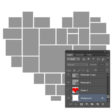 Picture Editing Heart Shaped Photoshop Collage Template Free Shaped Photo Collage Template