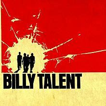 best billy talent album billy talent album
