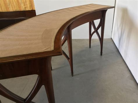 Curved Console Table 1950 At 1stdibs Curved Sofa Tables