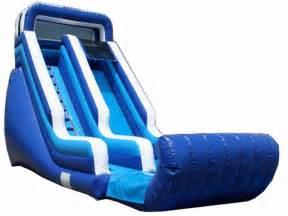 Average Size Backyard Pool Inflatable Water Slides For Rent Banzai Aqua Blast Lagoon