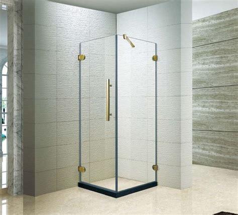 Tempered Glass Universal 5 Inch Antigores Kaca Universal 5 Inc 60 x 32 acrylic shower base and pivoting frameless shower