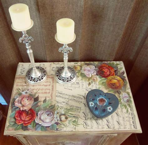 What To Use For Decoupage - from interesting to glazing as a distressing