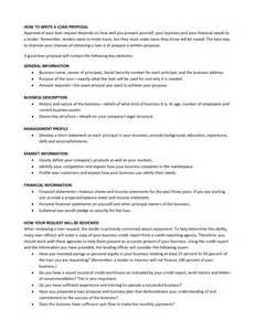 Short Business Proposal Template Small Business Loan Proposal Template Business Loan