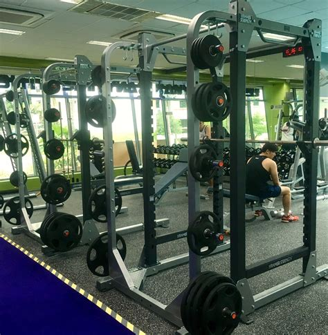 Anytime Fitness Squat Rack by Anytime Fitness Gyms Singapore South East Fitness Centers Singapore