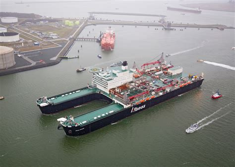 boat graphics removal pioneering spirit ready to remove north sea platforms