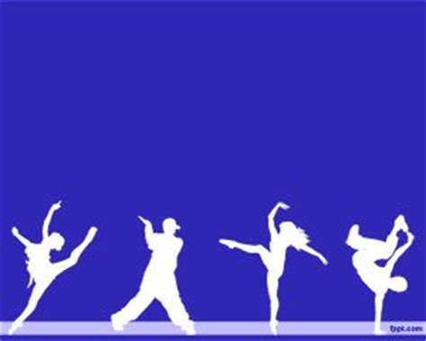 ppt themes dance dancer powerpoint