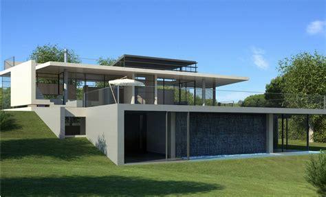 design villa minimalis contoh desain villa minimalis modern terbaru 2016