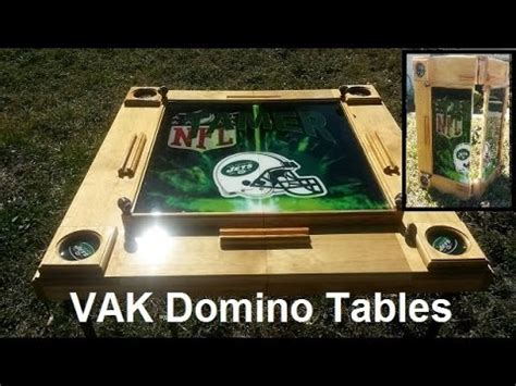 foldable domino table youtube