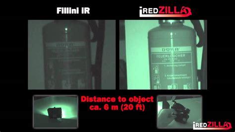 led near infrared light iredzilla focusable infrared led light youtube