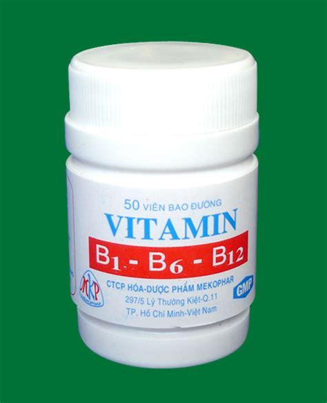 Vitamin B1 B6 B12 Vitamin B1 B6 B12 Mekophar