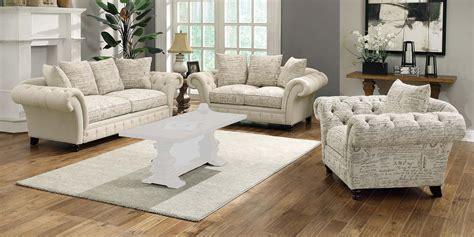 printed sofa sets coaster willow sofa set plain printed oatmeal 50376 sofa
