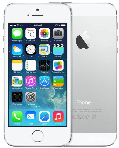 on iphone 5s rozetka ua apple iphone 5s 16gb silver цена купить