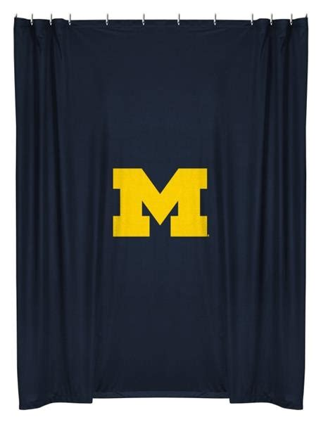 michigan state shower curtain michigan wolverines shower curtain