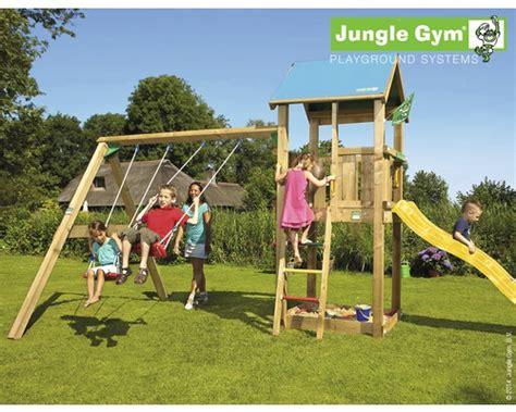 Spielturm Mit Rutsche Und Schaukel 79 by Spielturm Jungle Castle Swing Holz Mit Sandkasten