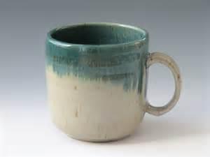 coffee mug handmade stoneware pottery mug olive green ceramic