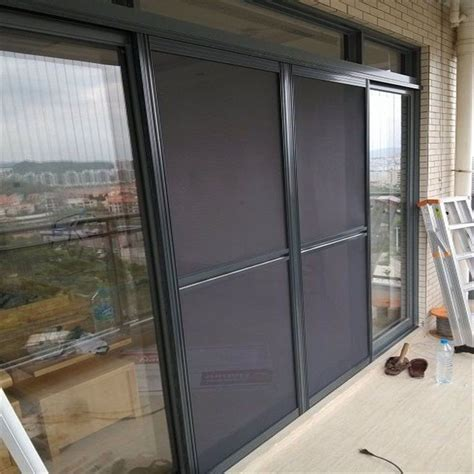 sliding screen door frame sliding mosquito nets for doors and windows sturdy framed