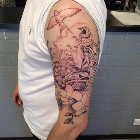 tattoo animal half sleeve half sleeve tattoo