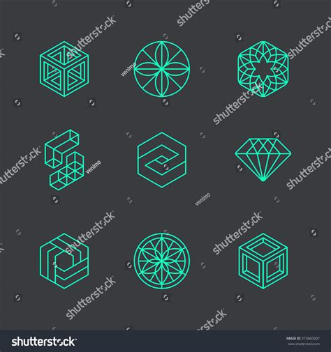 Vector Abstract Modern Logo Design Templates Stock Vector 373860007 Shutterstock Modern Logo Template
