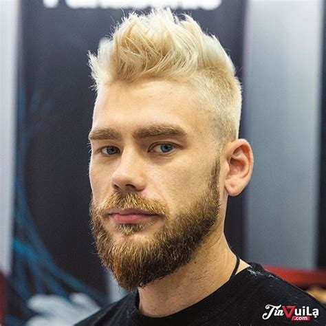 mens spiked hairstyles with blonde highlights best 20 blonde hairstyles for men in 2016 2017 atoz
