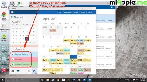 Aps Calendar 2015 Windows Calendar App Calendar Template 2016