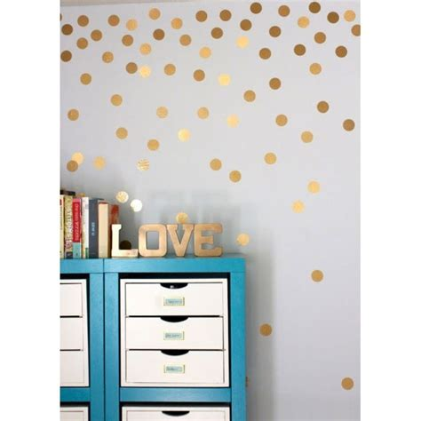 gold dot wall decals gold polka dot wall decals baby nursery ideas pinterest tienerkamers stippen en briefpapier