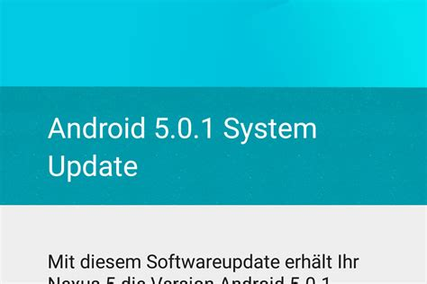android 5 0 update ukonio android 5 0 1 f 252 rs lg nexus 5 rollout des kleinen bug fix updates