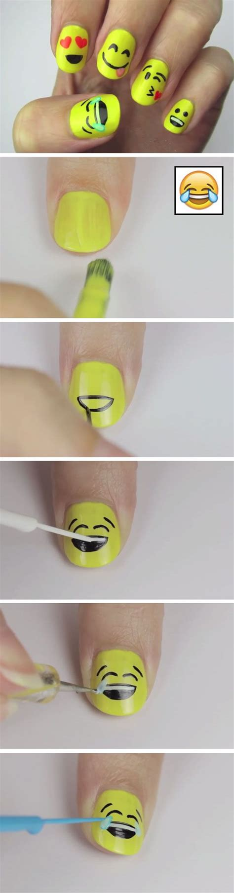 emoji nail art tutorial pinterest le catalogue d id 233 es