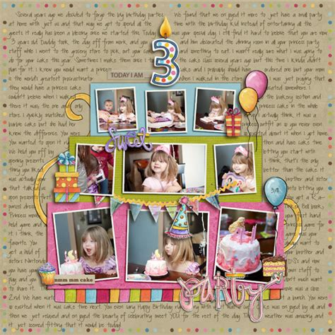 scrapbook layout ideas for birthday simple ideas for scrapbooking birthdays simple scrapper