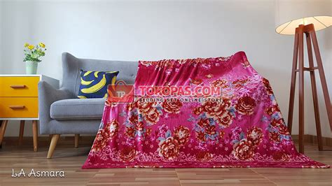 Selimut Bulu Dewasa Bola Batik selimut tokopas
