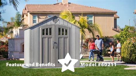 lifetime    outdoor storage shed model
