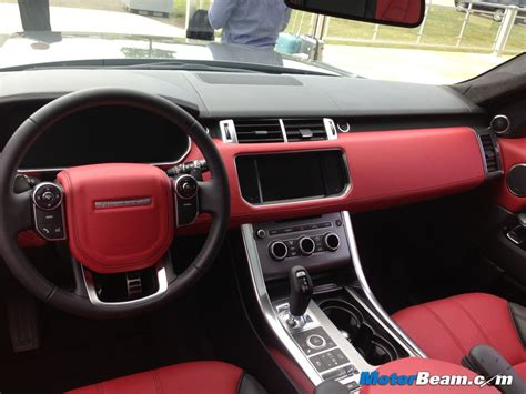 blue range rover interior range rover interior colors images