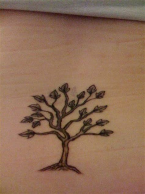 60 ash tree tattoos ideas small ash tree on lower back