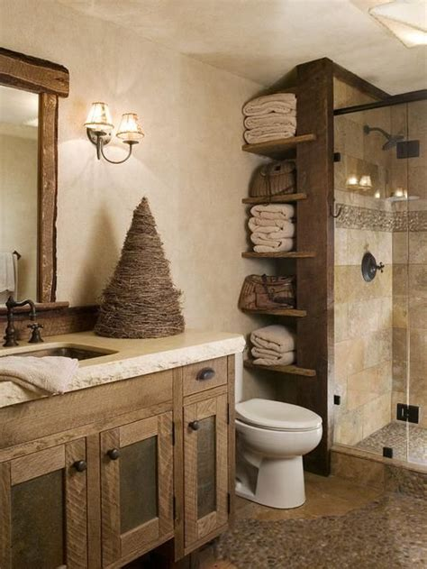 Rustic Bathroom Ideas Rustic Bathroom Design Ideas Pinteres