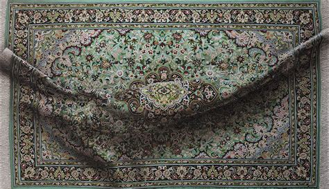 Decorative Rugs Hyperrealistic Paintings Of Bulging Decorative Rugs By