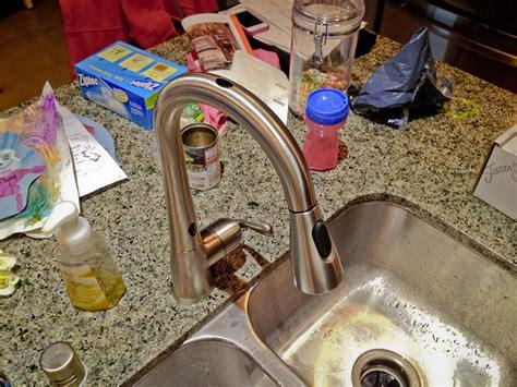 shop moen arbor with motionsense oil rubbed bronze 1 moen arbor with motionsense kitchen faucet windy pinwheel