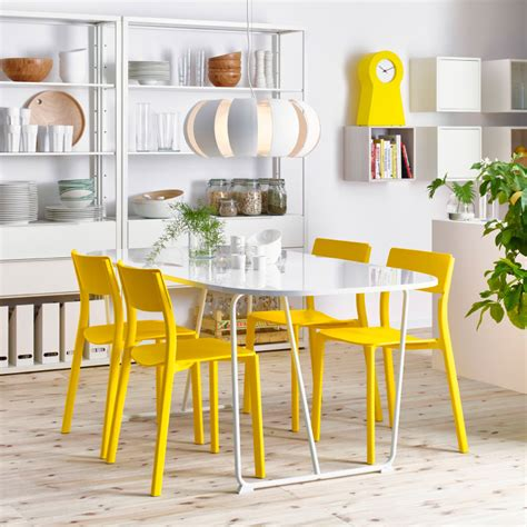 dining room tables and chairs ikea a sunny space for celebrating or just having breakfast