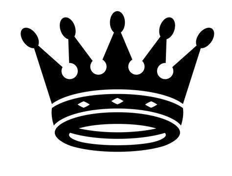 king crown images hd black king crown vector image vector library