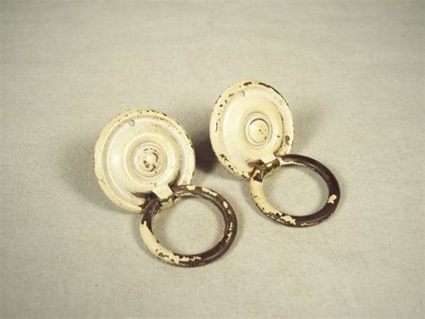 painting old drawer pulls painted antique brass drawer pulls shabby chic