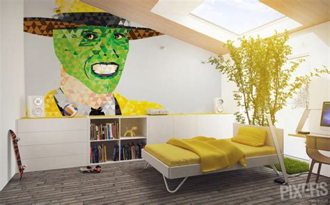 turn photo into wall mural decorate the walls of your home with favorite characters pixersize