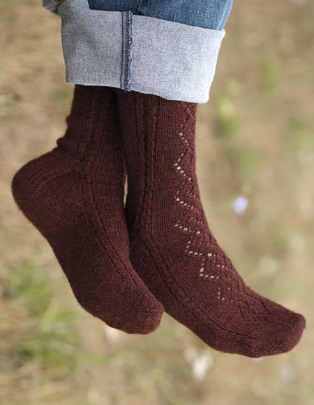 pattern cable socks lace cable socks pattern knitting patterns and crochet