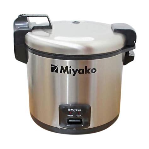 Pasaran Rice Cooker Miyako jual miyako mcg 171 jumbo rice cooker harga