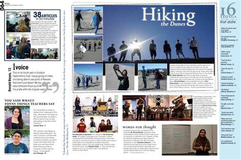 teaching yearbook layout design legacy green valley high school henderson nv
